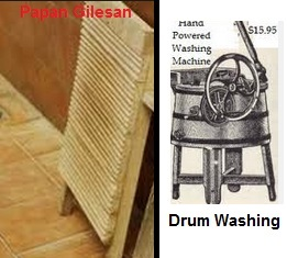 papan gilesan drum washing